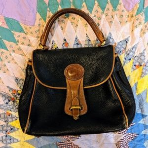 Dooney & Bourke Navy RARE VINTAGE purse